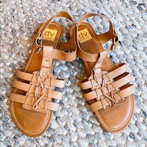 NWOT Dolce Vita Tan Sandals